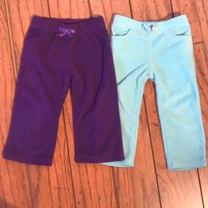 2 Pair 18-24 Month Fleece Sweats